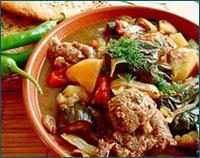 Готовим блюдо из баранины по чеченскому рецепту