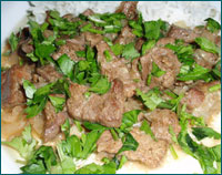 Готовим тушеную баранину по кабардино-балкарскому рецепту
