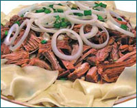 Готовим блюдо из баранины по ногайскому рецепту
