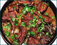 Готовим жареную баранину по осетинскому рецепту