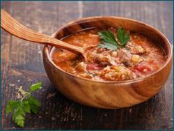 Харчо с грузинскими специями, пошаговый рецепт с фото