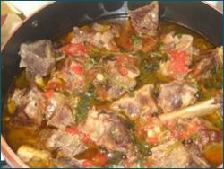 Хашлама из баранины на костре - Рецепты Кавказской Кухни