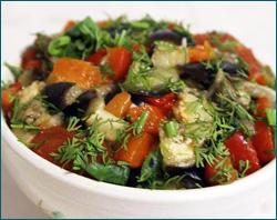 Кавказские салаты, рецепты кавказских салатов, салат по-кавказски